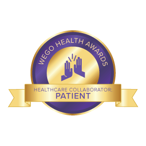 WEGO Health Patient Healthcare Collaborator Award Nominee
